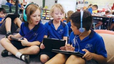 Students could take the 2017 Naplan on any number of devices, including laptops and tablets.