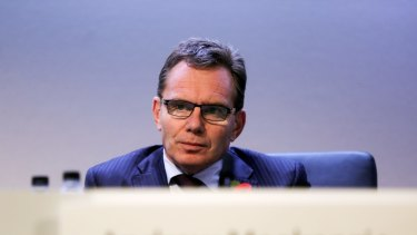 Andrew Mackenzie, chief executive officer of BHP Billiton.