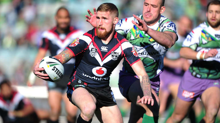 Unfulfilled:  Sam Tomkins  had a frustrating two-year stint with the New Zealand Warriors.