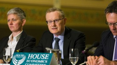 RBA governor Philip Lowe attacked the banking sector on Friday.