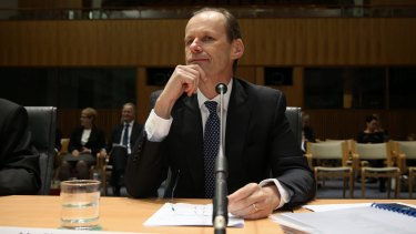 ANZ chief executive Shayne Elliott appeared at the parliamentary inquiry into banking.