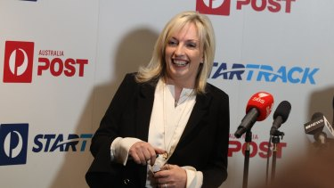 The new CEO of Australia Post, Christine Holgate.