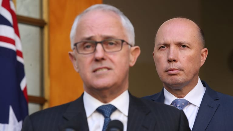 Despite his conservative leanings, Peter Dutton has been a key backer of Prime Minister Malcolm Turnbull.