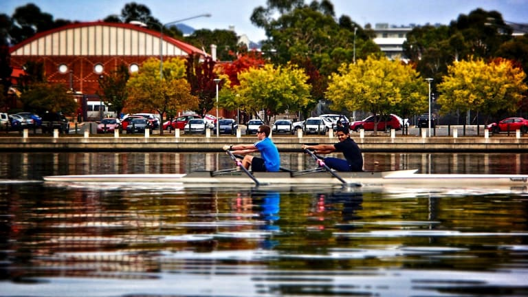 Rowing on Lake Tuggeranong will also be encouraged as part of the proposal.