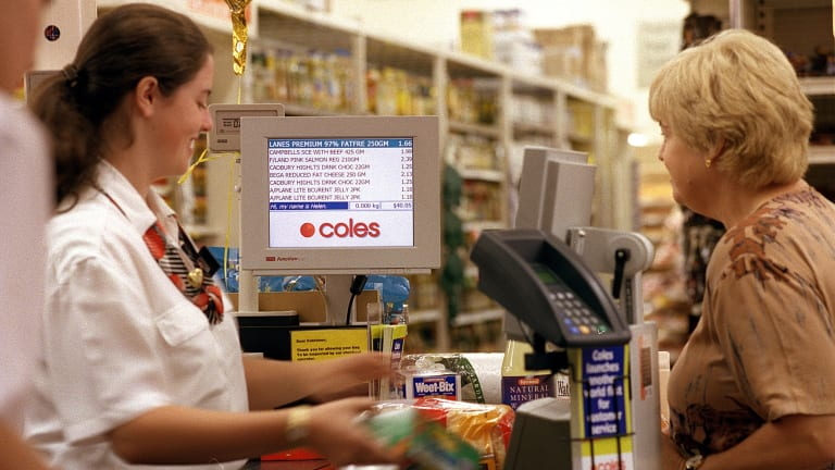 Coles has said it was preparing for a fight with Amazon and has been trying to improve its online offering.