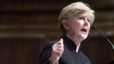 Australian Human Rights Commission president Gillian Triggs.