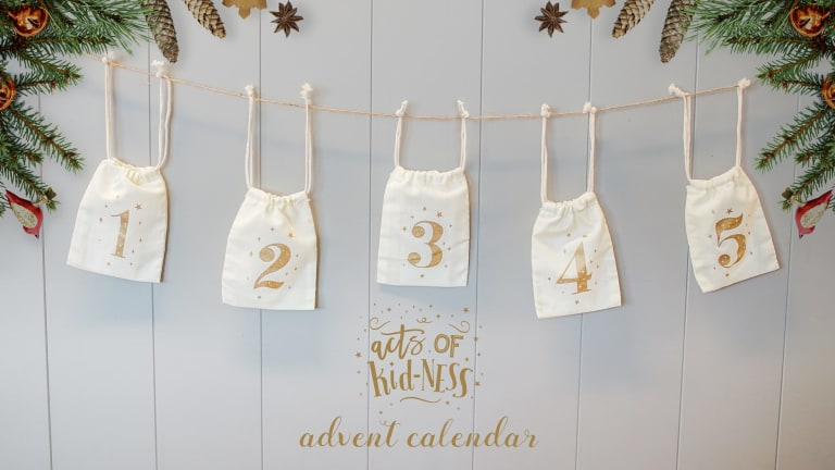 Acts of 'Kid-ness' Advent Calendar.