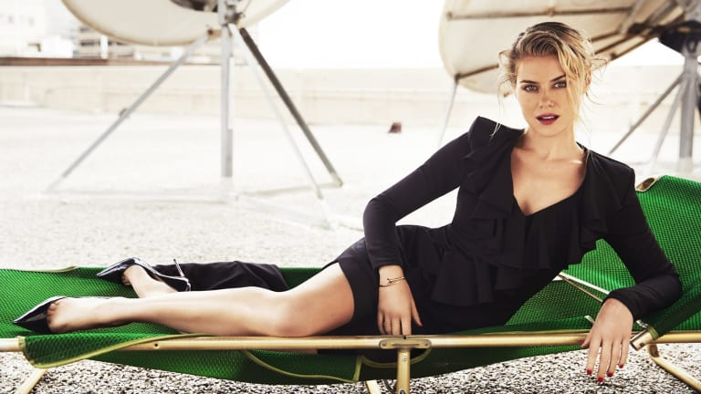 Aussie actress Rachael Taylor, currently starring in the new Netflix hit, Jessica Jones.
