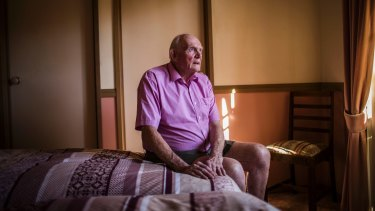 """When you've been married for so long and you've had somebody, to then to be on your own, to have to adjust, it's very difficult"": Croydon Hills grandfather Ken Wilson."