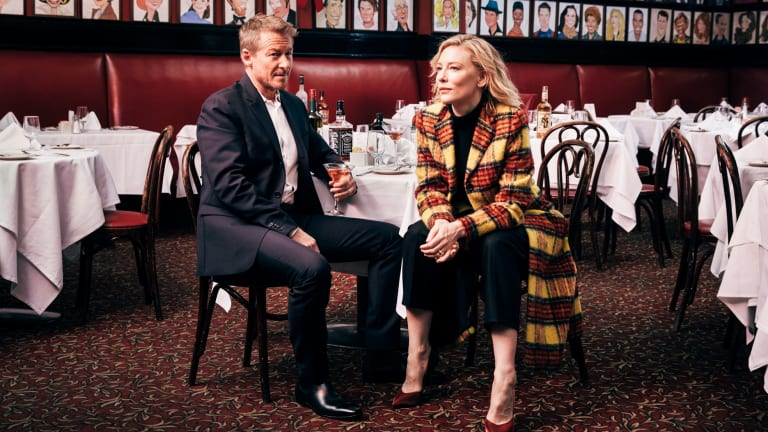 "Richard Roxburgh and Cate Blanchett, who have appeared together on stage and screen for more than two decades, are kindred spirits, ""both prepared to look like idiots"", says Blanchett's husband, Andrew Upton."