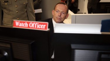 Prime Minister Tony Abbott opened the Australian Cyber Security Centre in Canberra in November.