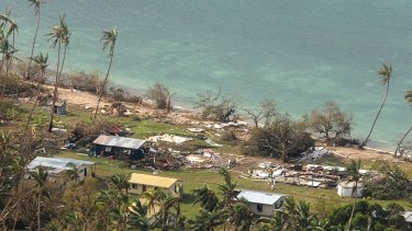 Fiji remained without electricity in the wake of a ferocious cyclone that left at least 17 people dead and destroyed hundreds of homes.