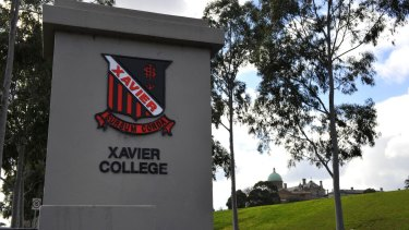 """Parents at Xavier College in Melbourne were asked to consider whether denial of same-sex marriage was """"unjust discrimination""""."""