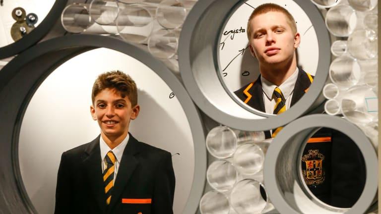 Harry Brink, 17, who use Schoolbox.