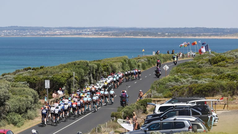 Riders were treated to stunning views as well as gruelling heat and climbs.