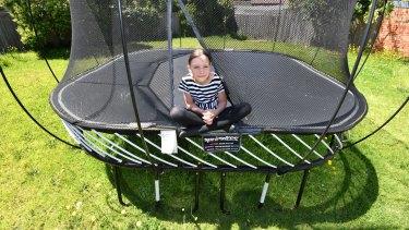 Goodbye trampoline and backyard.