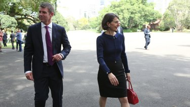 NSW Premier Mike Baird and Treasurer Gladys Berejiklian.