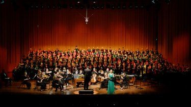 The Canberra Choral Society performance of Messiah had the requisite heavenly touches.
