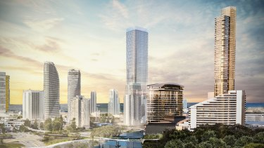 The Star Entertainment Group and its new masterplan for the Jupiters casino complex on the Gold Coast.
