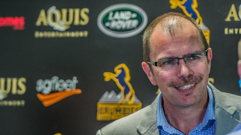 "New Brumbies chief executive Michael Thomson says the club will ""look at China, we'd be crazy if we didn't""."