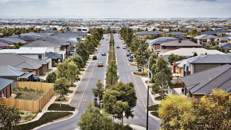 Farmland is making way for housing developments in Point Cook.