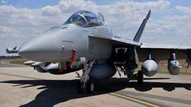 The Growler can fly over a city and act as an efficient radar-jamming fighter.