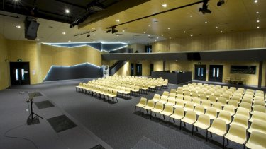 The 300-seat auditorium of the Church of Christ in CHC's Soho Village project at Alamanda Estate at Point Cook.