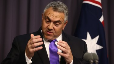 """Get a good job that pays good money"": Joe Hockey."