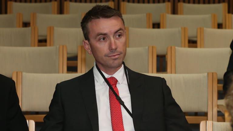 One Nation adviser James Ashby