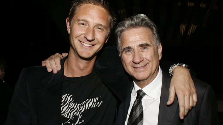 Source of pride: John Hemmes and his son Justin Hemmes.