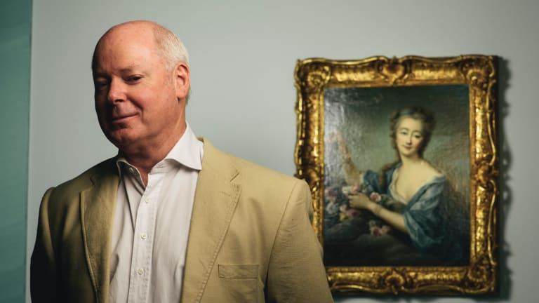 Director of the National Gallery of Australia Gerard Vaughan has announced his resignation.