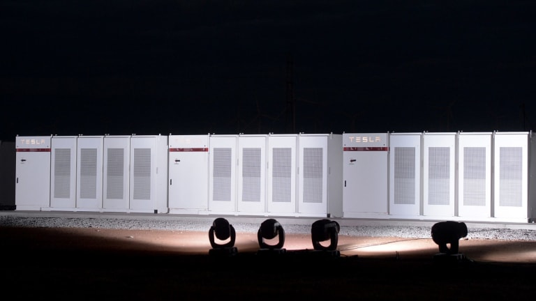Tesla's facility in South Australia