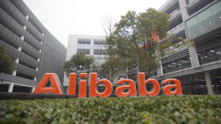 Alibaba's headquarters in Hangzhou, Zhejiang Province, China.