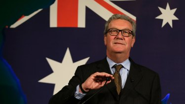 Australian High Commissioner to Britain, Alexander Downer.
