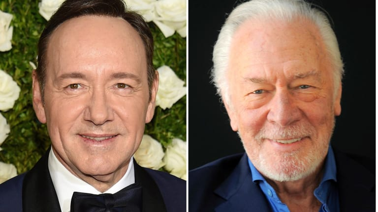 For Ridley Scott's All the Money in the World, it was out with Kevin Spacey and in with Christopher Plummer.