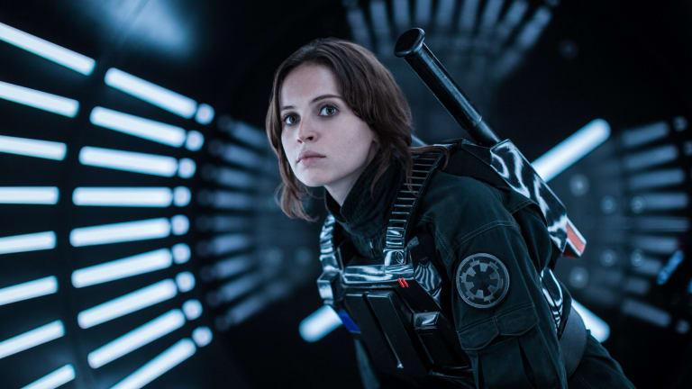 Felicity Jones portrays Jyn Erso in <i>Rogue One: A Star Wars Story</i>.