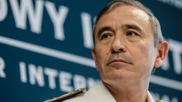 Admiral Harry Harris is considered an adversary by China because of his hardline approach to maritime disputes in the South China Sea.