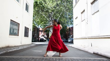 In Moving Archetypes Padma Menon uses dance to connect  to larger energies.