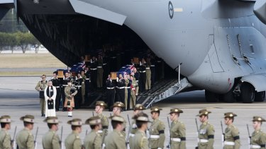 Richmond RAAF base is used for repatriation services, among a variety of other military needs.