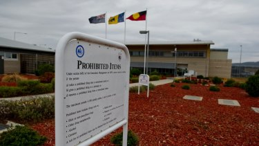 Patrick McCurley and Jacob MacDonald were the first people to allegedly escape the Alexander Maconochie Centre.