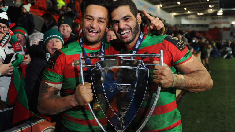 It was a refreshed and refocused Sutton who returned to action during the World Club Challenge, lifting the trophy with the man who replaced him as captain, Greg Inglis.