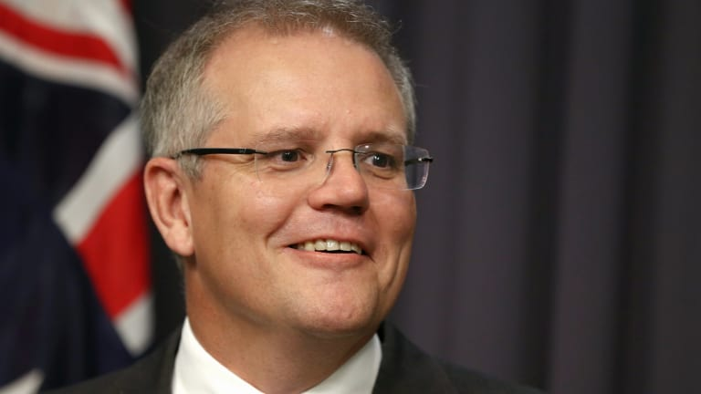 New Social Services Minister Scott Morrison.