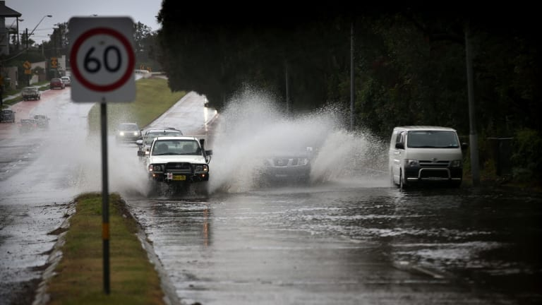 Storms in June caused chaos for motorists.