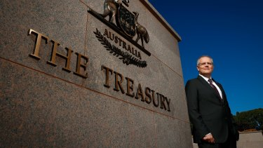 It looks like Treasurer Scott Morrison will once again be able to dodge the bullet of a ratings downgrade.