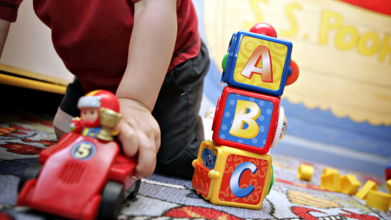 Only about 15 per cent of Australian three-year-olds are enrolled in high-quality preschool programs, compared an OECD average of 70 per cent.