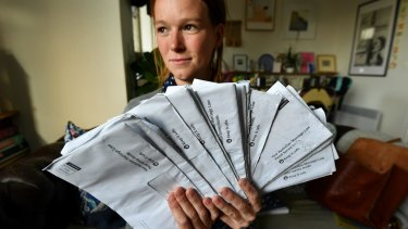 Kerry Ford found 17 marriage equality postal votes dumped in her garden.