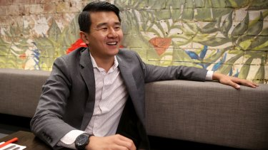 Ronny Chieng at Aunty Franklee.
