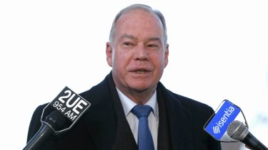 """The politics of fear and division have never created one job,"" Mr Broadbent said on Monday night."