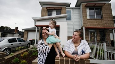 Family get off public housing waiting list and into