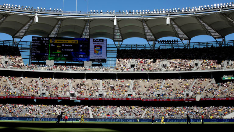 The inquiry has heard facial recognition cameras could be in place at Optus Stadium.
